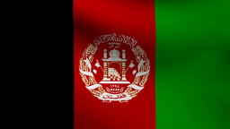 Afghanistan flag Animation