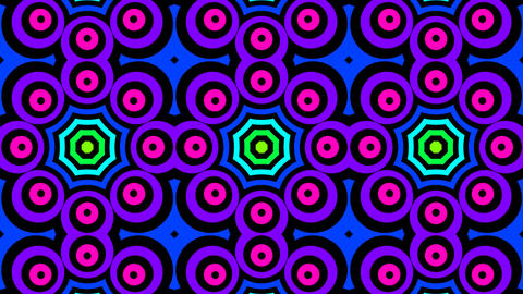 circle spectrum Stock Video Footage