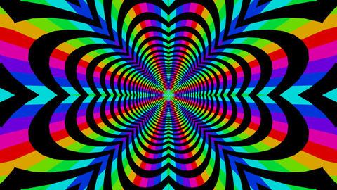 colorful dancing stripe Animation