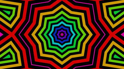 multicolor starlish Stock Video Footage