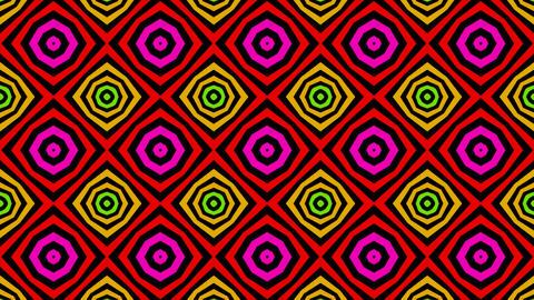 tile shape colour Stock Video Footage