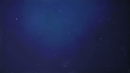 Ocean particles blue background Animation