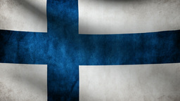 Finland flag Animation