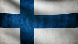 Finland flag Animation