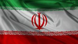 Iran flag Animation