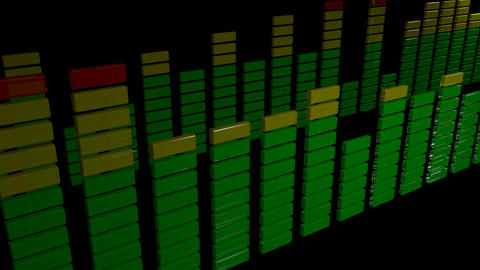 3d stereo audio equalizer Animation