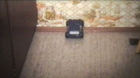 Toy Cars 1978 Vintage 8mm film Stock Video Footage