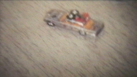 Toy Cars 1978 Vintage 8mm film Footage