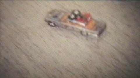 Toy Cars 1978 Vintage 8mm film Footage