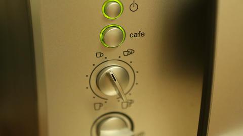 coffee machine 04 Stock Video Footage