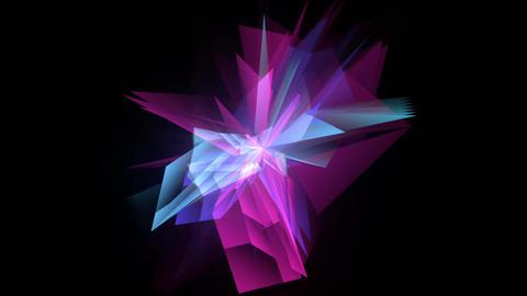 Polar crystals with echo Footage