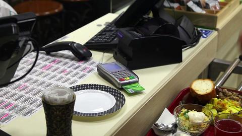 Credit card transaction Footage