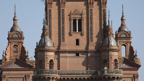 European Architecture Of Cathedral Or Palace Live Action