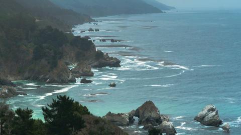 Oceanside Time-lapse Waves ビデオ