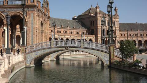 Bridge And Canal At Royal Palace Live Action