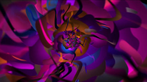 Colorful Thing Flythrough Animation