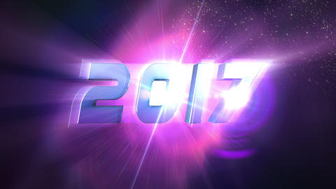 New Year 2017 Countdown Animation Animation