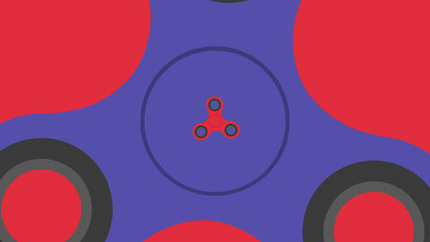 Hand spinner on hand spinners Footage