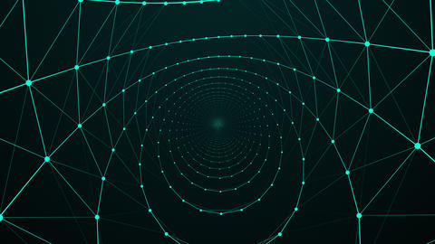 Abstract Background Inside A Network GIF