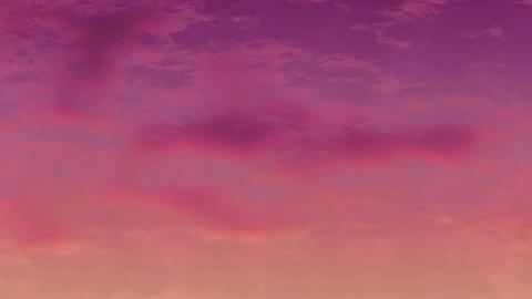 Mov147 cloud anime bg loop 09 CG動画