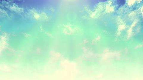 Mov148 cloud flare sky loop 03 CG動画
