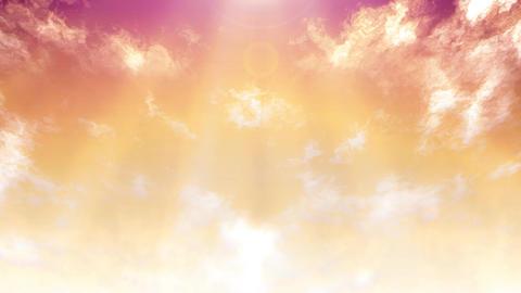 Mov148 cloud flare sky loop 05 CG動画