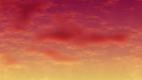 Mov147 cloud anime bg loop 01 CG動画