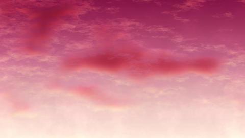 Mov147 cloud anime bg loop 05 CG動画