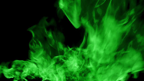 green Fire flame loop animation Animation