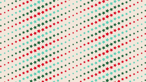 4K dot , vector vintage Star pattern, looped animated background for a party, holiday, Christmas, Animation