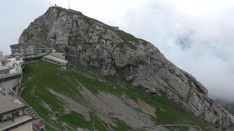View on Pilatus Kulm mountain Switzerland, Europe Live Action