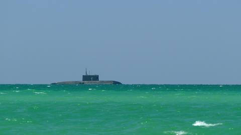 Submarine At The Sea Footage