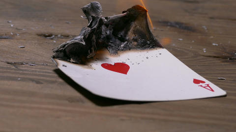 Burning ace of hearts card 2 Live影片