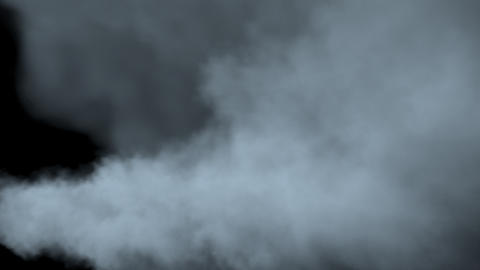 Fog/Steam/Smoke with alpha matte in 2K Animation