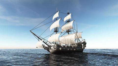 海賊船 CG動画