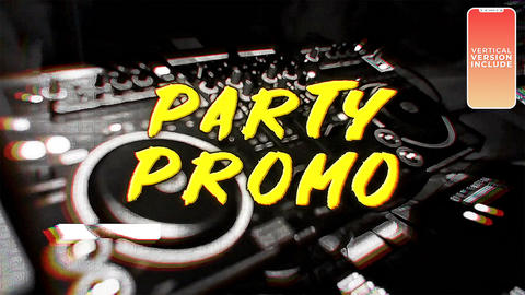 Party Promo After Effects Template