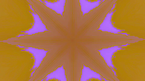 Casual nostalgic psychedelic iridescent background. Kaleidoscope for your video Live Action