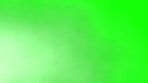 Atmospheric white smoke moving steady across green background. Ready to use in your Halloween Animation