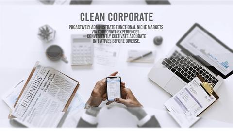 Corporate Clean Intro Premiere Proテンプレート