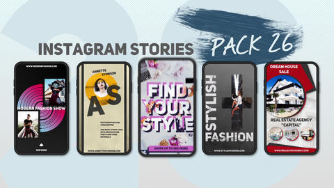 Instagram Stories Pack 26 After Effects Template