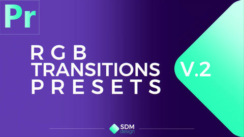 RGB Transitions Pack V.2 Plantillas de Premiere Pro