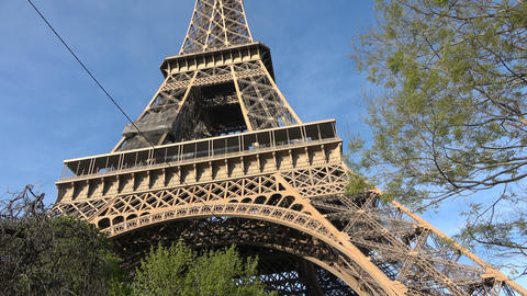 View of the Eiffel Tower Live Action