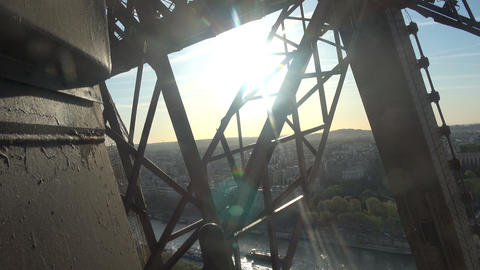 Ascending with the Elevator at Eiffel Tower 2 Live Action