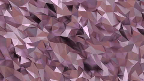 low poly rose gold GIF