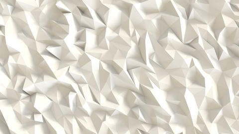 White low poly background CG動画