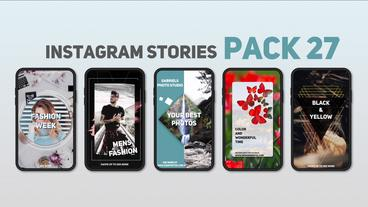 Instagram Stories Pack 27 After Effects Template