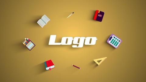 School Logo Reveal Plantillas de Premiere Pro