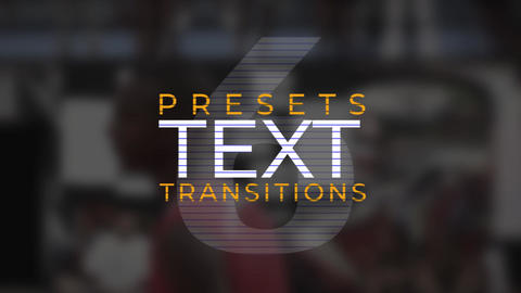Text Transitions V.6 Plantillas de Premiere Pro