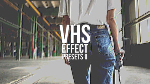 VHS Effect Presets V 2 Plantillas de Premiere Pro