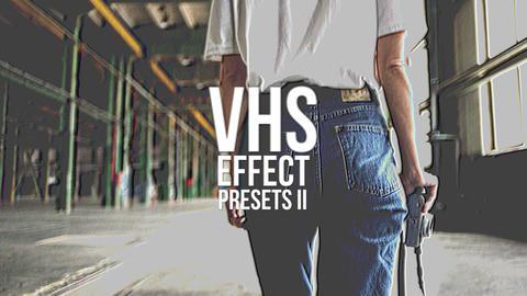 VHS Effect Presets V 2 Premiere Pro Template